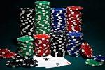 Chip Poker dengan Sepasang Aces